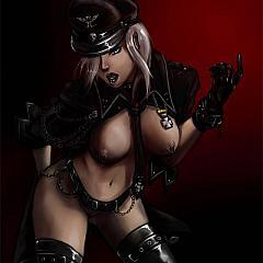 BDSM uniform.