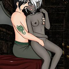 BDSM sex.