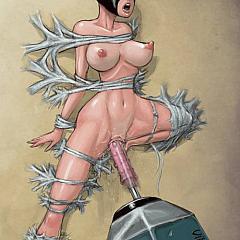 BDSM machines.