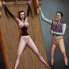BDSM cartoons.