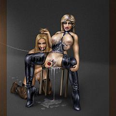 BDSM drinking.