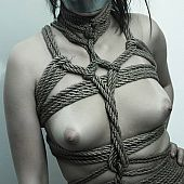 Greater amount girlfriends roped and bound.