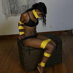 BDSM bondage.