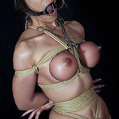 BDSM shown.