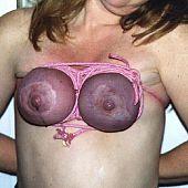 Torture bondage tits.