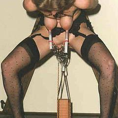 BDSM torment.