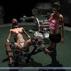 BDSM dildos.
