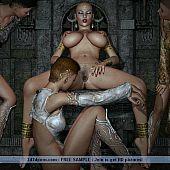 Slavery games lascivious lesbians.