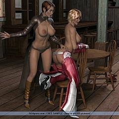 BDSM latex.