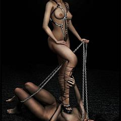 BDSM female-dominant.