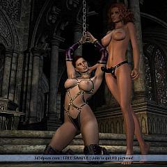 BDSM strap-on.