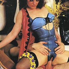 BDSM blue.