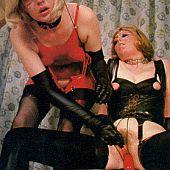Vintage ladies silky underware.