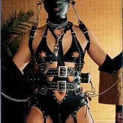 BDSM wearing.