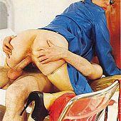 Breasted vintage slut perverted.